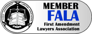 First Amendment Lawyer's Association badge