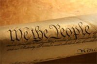 [Photo of Constitution]